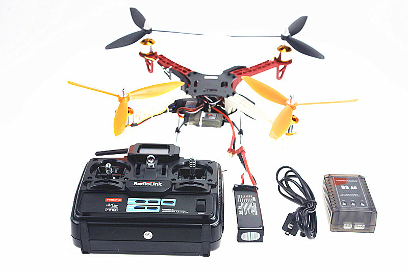 F02471-B  F330 Airframe  MultiCopter Frame  Flame Wheel kit RTF Whole Assembled Kit with Radiolink 6CH TX&RX ESC Motor Welded