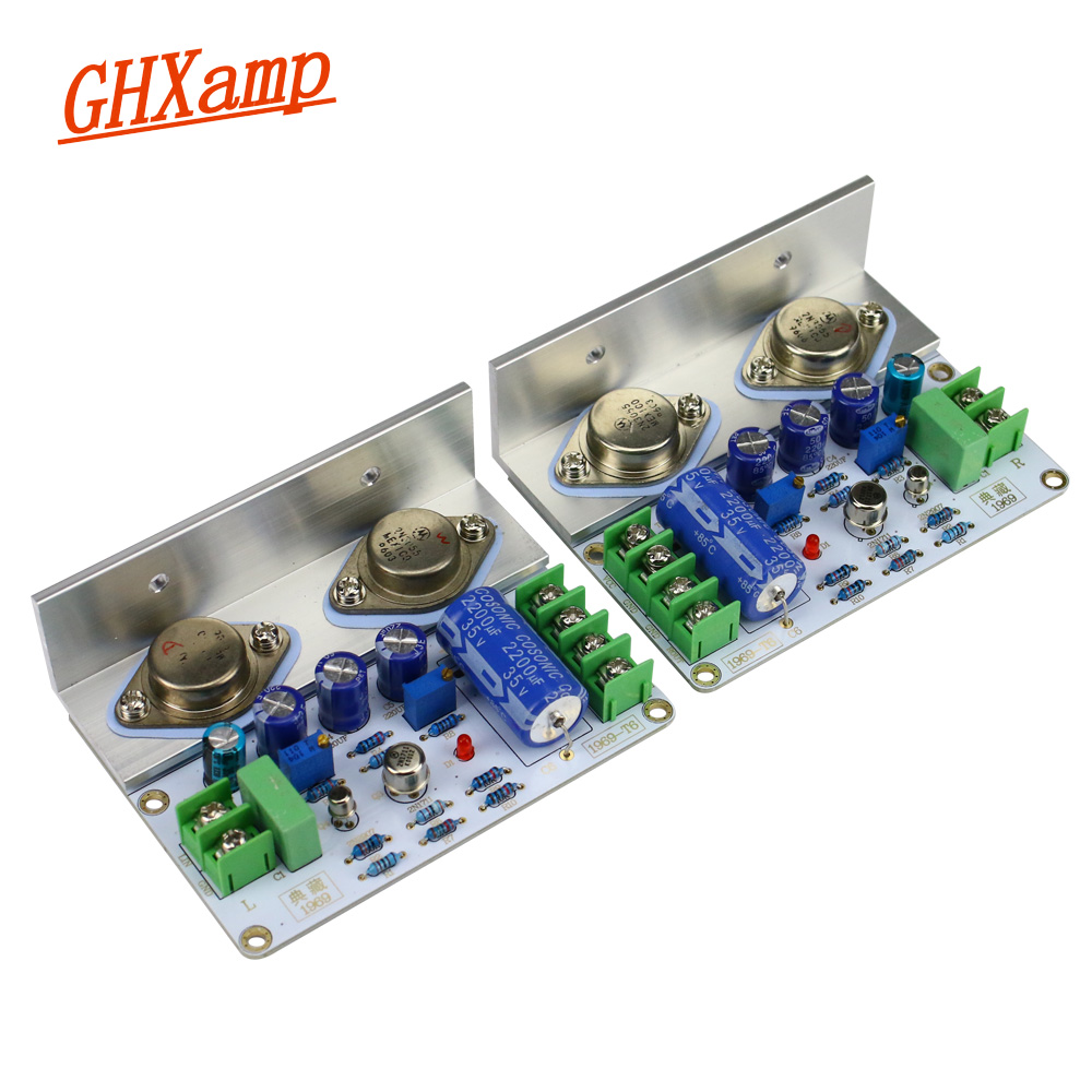 GHXAMP Hifi JLH 1969 Amplifier Audio Class A Power Amplifier 