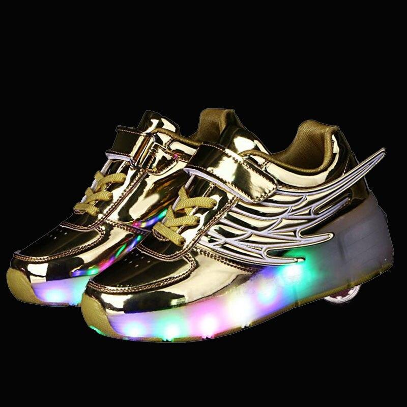 Arrive Children Shoes Glowing Sneakers