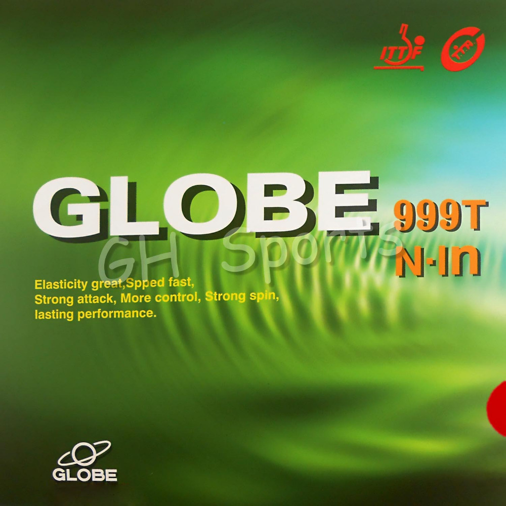 Globe 999T 999-T Pips-in Table Tennis Ping Pong Top Sheet Rubber Without Sponge (OX, Topsheet) Racquet Sports