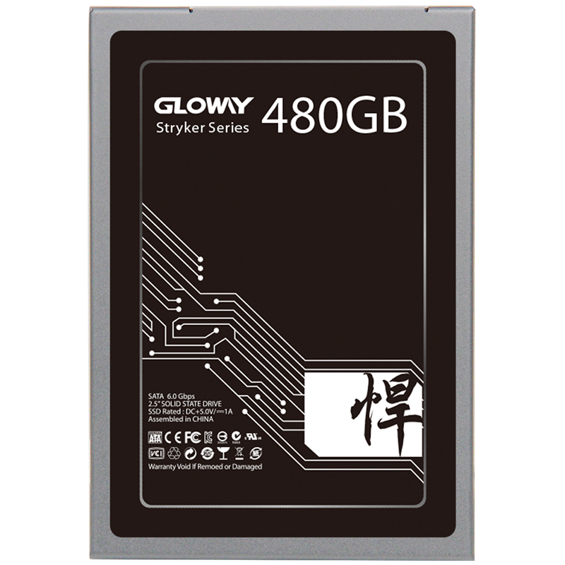 Disque ssd Gloway à semi-conducteurs 1 to 2 to SATA3 2.5
