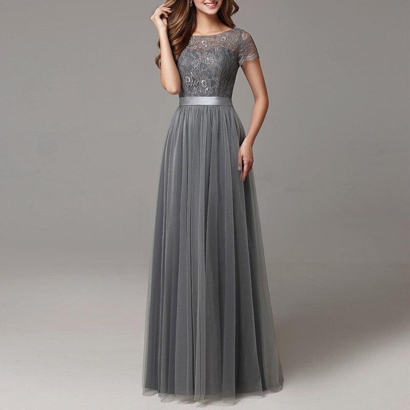 Dark Grey Bridesmaid Dresses Junior