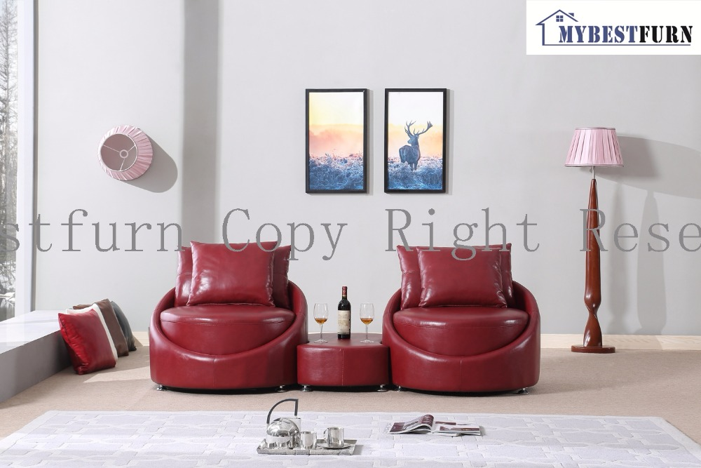 Mybestfurn Luxury Italian Leather Sofa New Designer