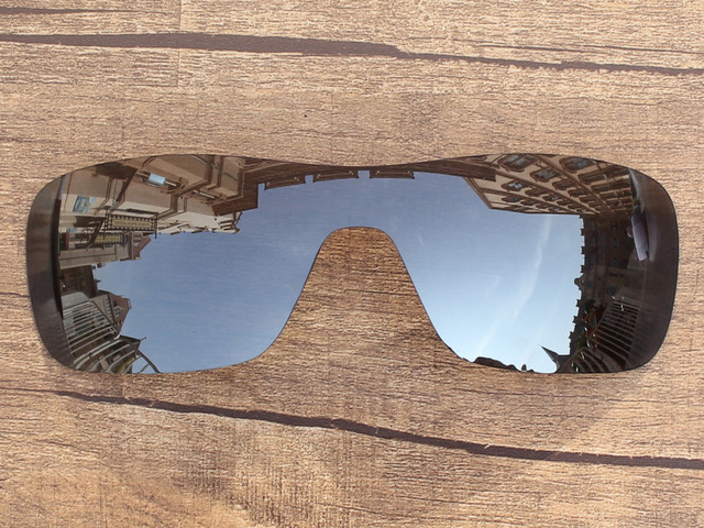 Black Iridium Mirror Polarized Replacement Lenses For Turbine Rotor Sunglasses Frame 100% UVA & UVB Protection