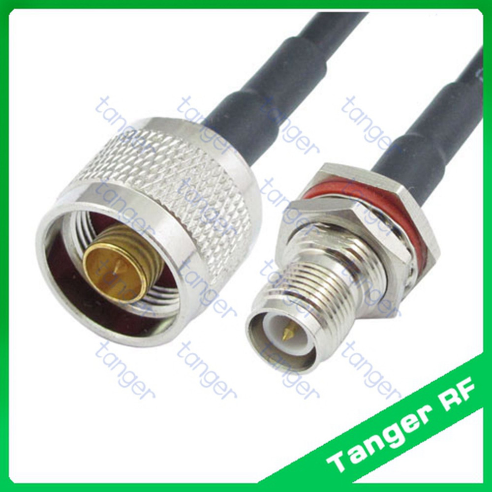 Hot Selling Tanger Rp Tnc Female Connector To N Male Plug Straight 50pcs 2pins Printed Circuit Board Block Screw Terminals Us Rf Rg58 Pigtail Jumper Coaxial Cable 3feet 100cm High Quality
