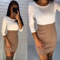 2017 New Ladies Women Short Sleeve Slim Dress Bodycon Womens Sexy Dresses Party Night Club Dress