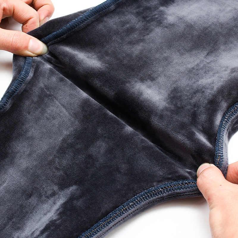 Зимние мужские джинсы, мужские теплые панталоны, Pitillos Hombre, черные джинсы в стиле стрит, байкерские мужские трусы, уличные тонкие Marcas