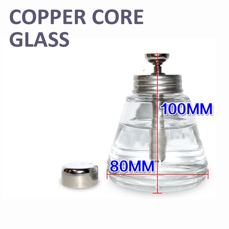 Thickened Pressing type Glass copper core Flux Alcohol bottle Corrosion proof Wash plate water Cleaning tool 150 adnart flavour it glass water bottle with fruit infuser