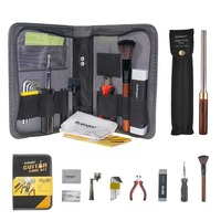Baroque Guitar Luthier Tool Kit Setup Measuring Ruler Nut File Cutter Plier Brush Cleaner Winder Set