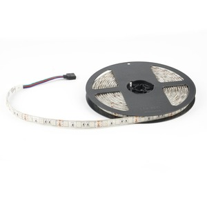 Image 3 - LED Stip ชุด RGB LED Strip DC12V 5 M กันน้ำยืดหยุ่นเชือก 5050 60LED/m, 44Key รีโมทคอนโทรล