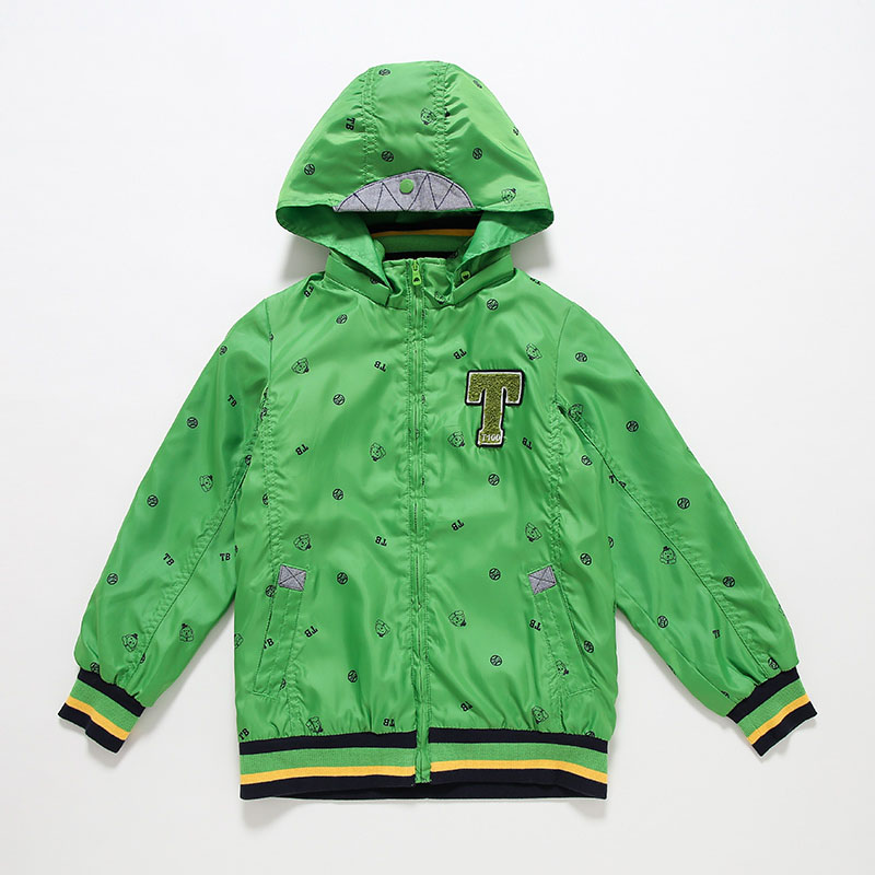 T100 Baby Boy Winter Jacket Hooded Toddler Coat Cartoon Kids Autumn Outwear Coats Fashion Children Raincoat Clothing Boys Coats