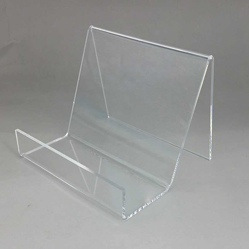 Acrylic T3mm W12cm Purse Wallet Bag Iphone Book Display Racks Holders Stands One Tier Guesset 50mm 200pcs High Quality