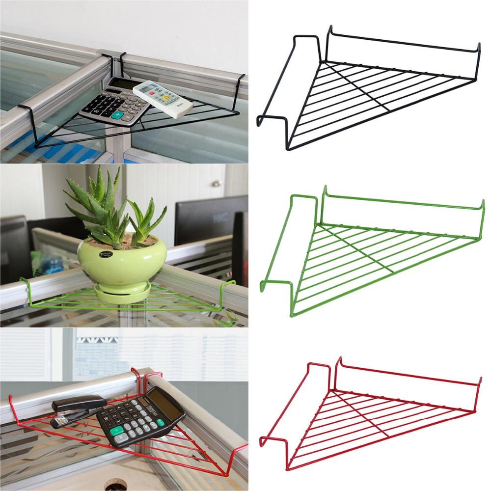 Deck Plant Iron Shelf Railing Flower Stand Patio Rail Pot Holder Corner  Rack(China (