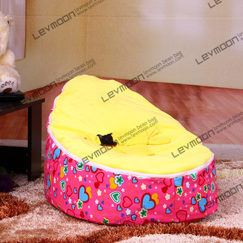 FREE SHIPPING baby bean bag with 2pcs golden up cover baby beanbag baby chair baby seat cover bean bag covers only baby bean bag cover with 2pcs black up covers baby bean bags baby bean bag chair baby bean bag bed beanbag seat free shipping