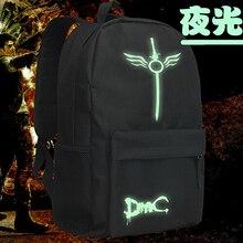 Дьявол может плакать 5 косплей рюкзак аниме данте DMC оксфорд школьные унисекс