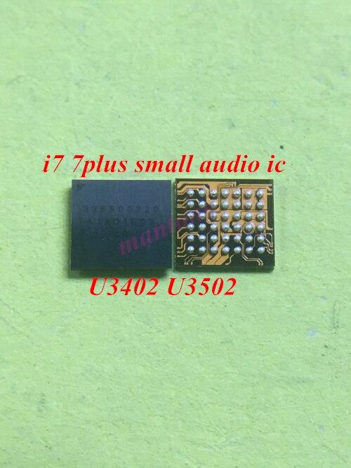 2pcs Original U3402 U3502 For Iphone 7 7plus Small Audio Codec Ic Chip