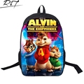 Gismo cartoon bag Alvin and the Chipmunks printing backpacks children school bags boy girl daily solf bag kids satchels