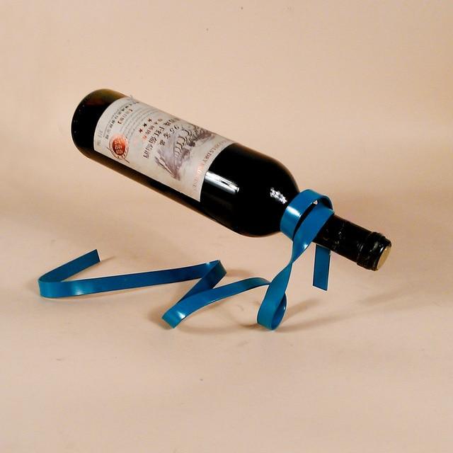 New Creative Wine Holder Home Bar Beer Rack Bottle Suspension