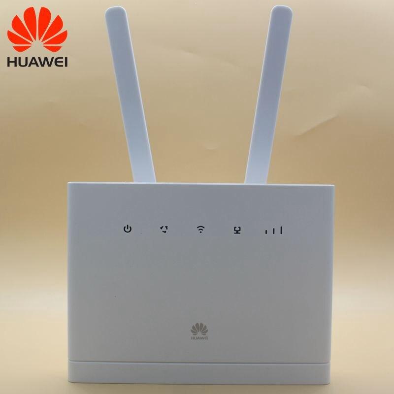 Débloqué Huawei 4G routeurs sans fil B315 B315s-608 avec antenne 3G 4G CPE routeurs WiFi Hotspot routeur avec fente pour carte Sim PK B310