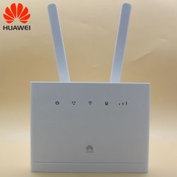 Unlocked USED Huawei 4G Wireless Routers B315 B315s-608 with Antenna 3G 4G CPE Routers WiFi Hotspot Router with Sim Card Slot