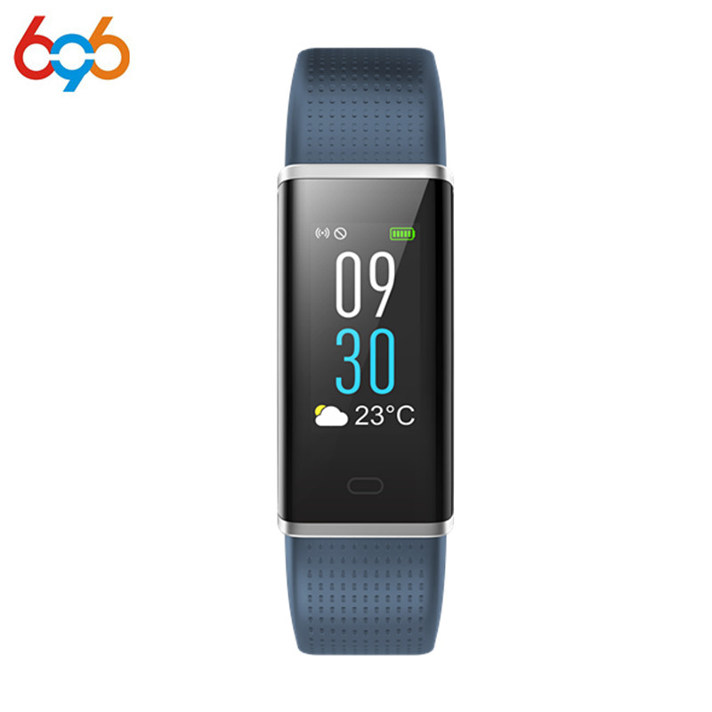 696 ID130C Blood Pressure Watch Blood Oxygen Heart Rate Monitor Smart Bracelet Pedometer IP67 Waterproof Wristband bozlun men smart wristband blood oxygen blood pressure watches heart rate monitor oled display bluetooth wristwatches b15s page 5