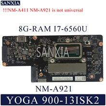 Kefu NM-A921 ноутбук материнская плата для Lenovo YOGA 900-13ISK2 оригинальная материнская плата 8G-RAM I7-6560U