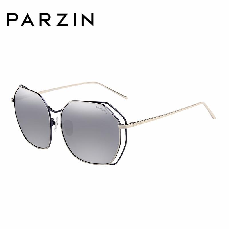 PARZIN Brand Polarized Sunglasses Classics Fashion Shield Anti UV400 Quality  Women Colors Eyewear New Driving Glasses 8087