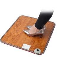 Heated Foot Mats Feet Warmer Warm Blanket Heating Pad Waterproof Warm Feet 3Mins Heating Pad Office Electric Winter Foot Heating