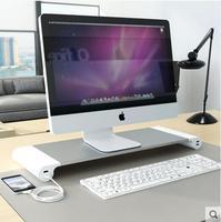 Display height rack notebook office computer screen height rack multi functional desktop keyboard storage