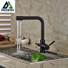 Multifunktionale Küche Heiß Kalt Wasser Küchenarmatur Reinwasserhahn Trinkwasser Mischbatterie