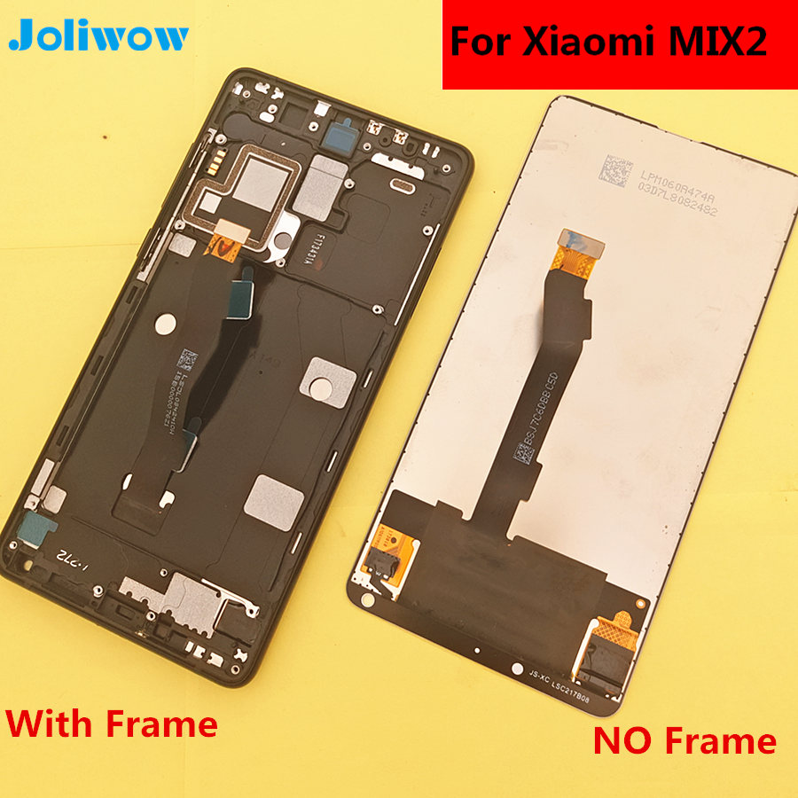 5 99 For Xiaomi MI Mix 2 mix2 LCD Display Touch Screen frame Digitizer Assembly for