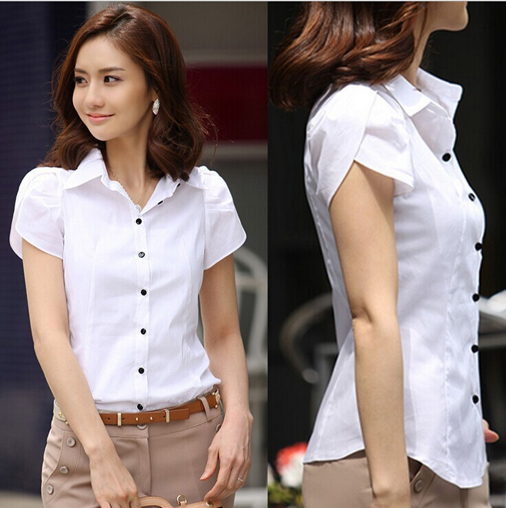 Formal White Blouses - My Blouses
