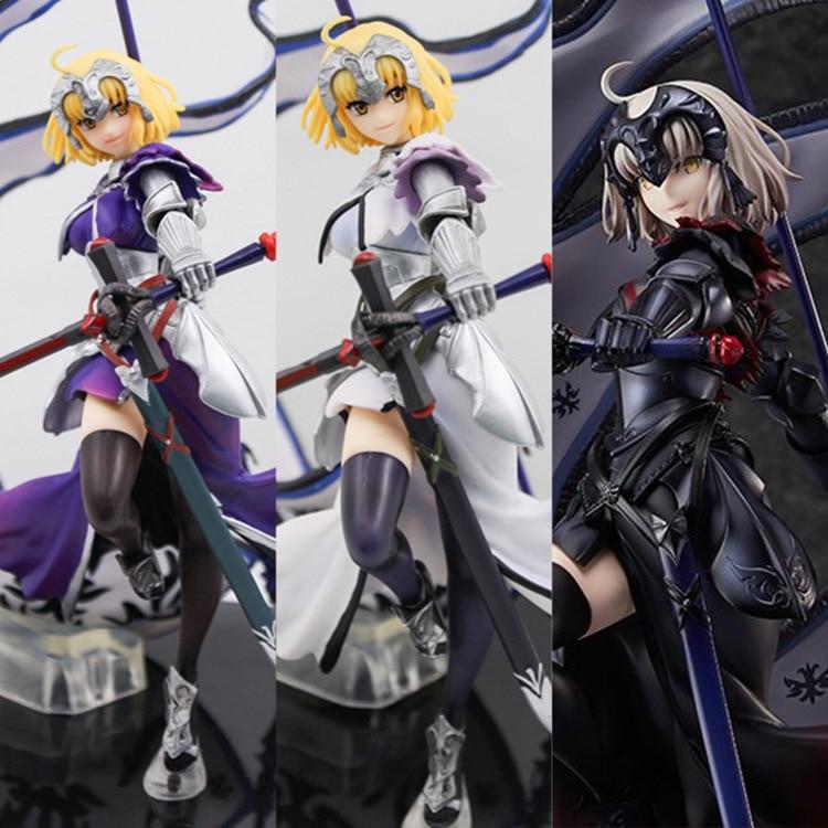 Règle destin/Apocrypha 4 génération Joan Arc sabre violet/blanc/noir règle Ver. Modèle de Collection de figurines à l'échelle 1/8