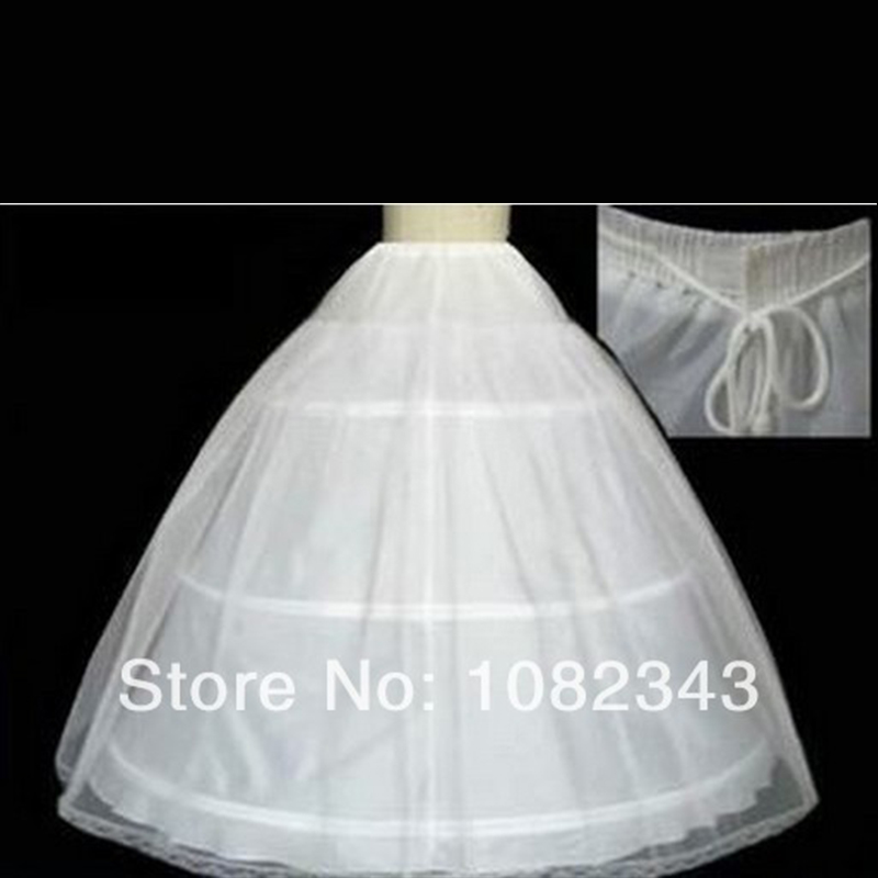 Hot sale cheapeat 3 hoop hoop wedding bridal gown dress for Wedding dress hoops for sale