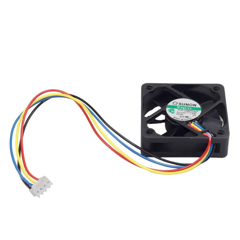 50 mm ventilador de PC enfriador 4 pines placa base Conector PC de - Componentes informáticos - foto 2