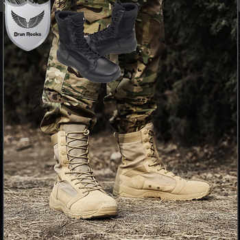 High Quality Timber Land Shoes Military Boots Men Botas Askeri Bot Bota Masculina Army Combat Coturnos Masculino Botas Militares - DISCOUNT ITEM  5% OFF All Category