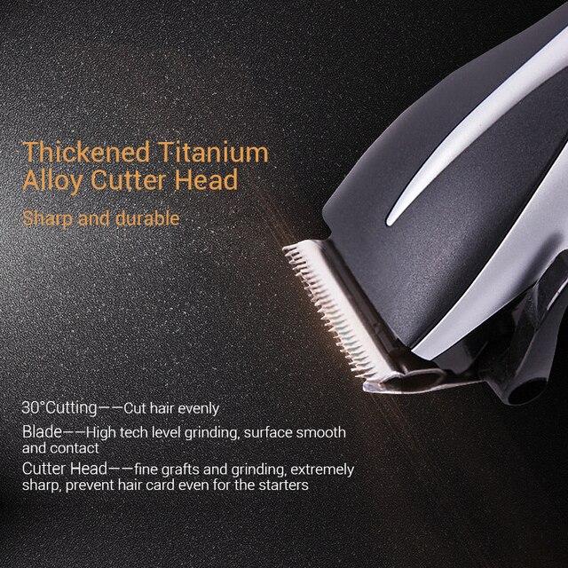 TINTON LIFE Professional Hair Trimmer Strip-line Hair Cutting Machine Adjustable Electric Hair Clipper 5603 Hair Clippers