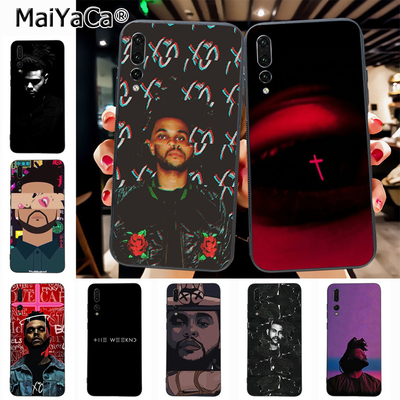 Maiyaca The Weeknd Luxury Quality Phone Case for Huawei P20 P20 pro Mate10 P10 Plus Honor9 cass(China)