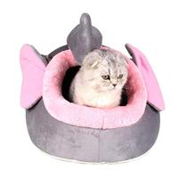 Pets Warm Soft Slepping Pads Mini Dog Kennels Portable Cozy Dog Bed Removable Doggy Puppy House Pet Accessory #15