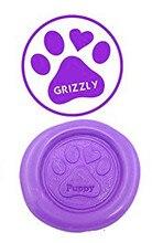 Dog Paws Vintage Custom Luxury Wax Seal Sealing Stamp Brass Peacock Metal Handle Sticks Melting Spoon Wood Gift Box Set