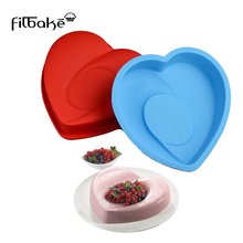 FILBAKE Bread Loaf Pans Heart Cake Pan Silicone Chocolate Cupcake Mold Decotrating Tools Baking Accessories Kitchen Toys