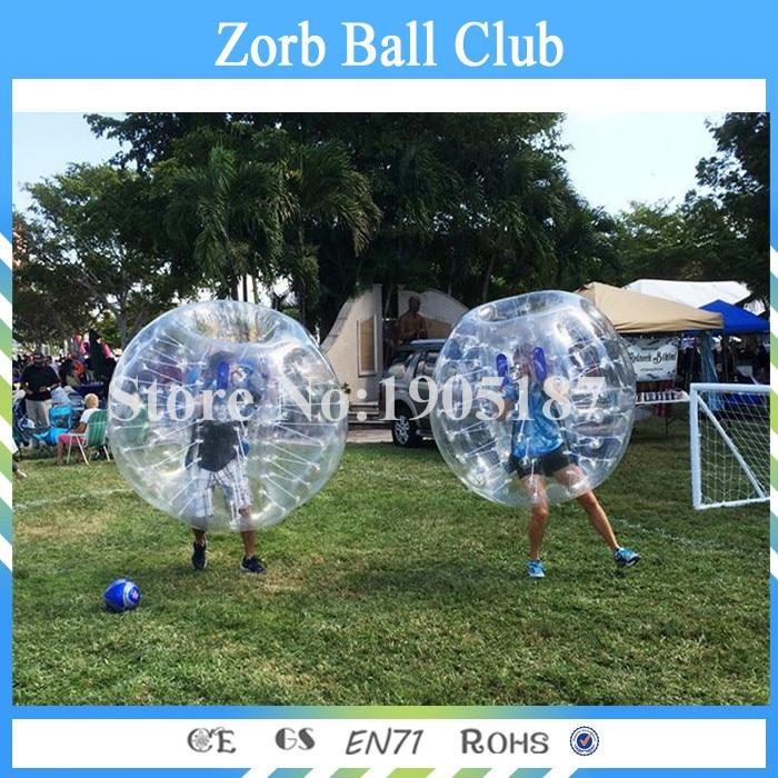 Envío gratis TPU burbuja fútbol 1.2 m rojo o azul, bola Loopy, - Deportes y aire libre - foto 2