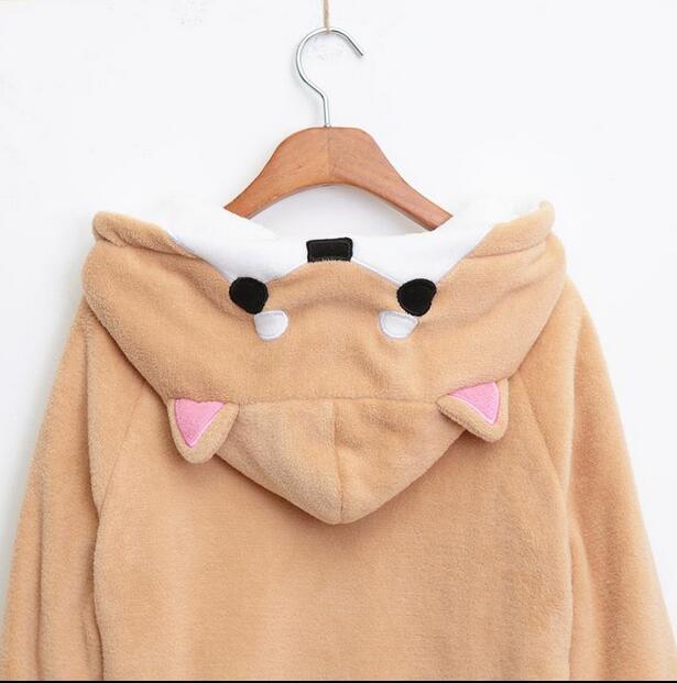 Harajuku Japanese Kawaii Hoodies Women Sweatshirts With Ears Cute Doge Muco  Winter Plush Lovely Muco ! Anime Hooded Hoodies 2225eaaed3