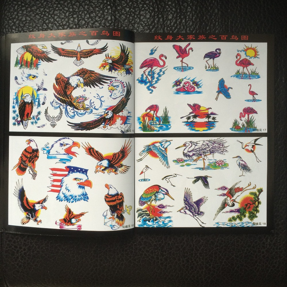 Eagles-Tattoo-Flash-Design-Book-42-Pages-Cursive-Writing-Art-Supply-Tattoo-supplies (1)