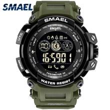 Watch Smart Men Watches SMAEL Luxury Sport Watch Stopwatch Bluetooth Alarm Clock 8018 Relogio Waterproof Digital Wristwatches цены онлайн