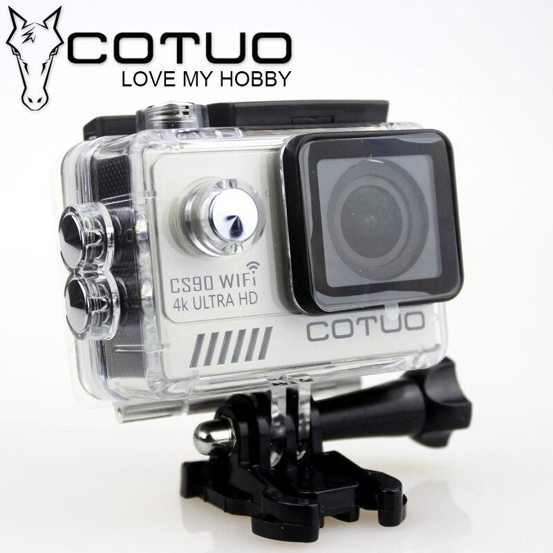 COTUO CS90 NTK96660 4K Ultra HD sport caméra d'action 2K 30fps Gyro 2.0