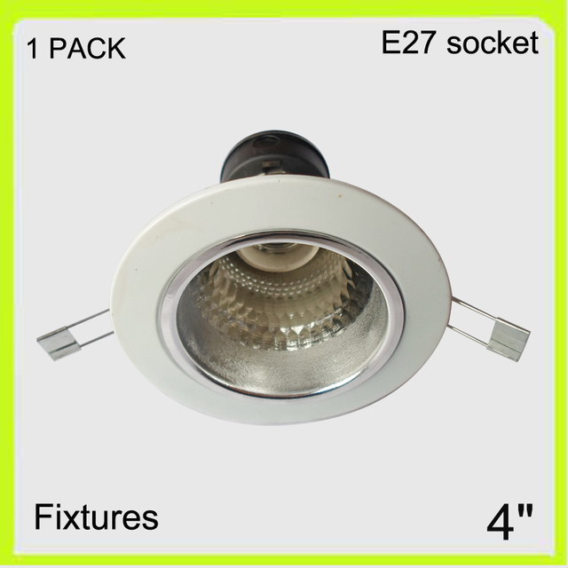 Manufacturer 1 pack round recessed mounted 4 led downlight cover manufacturer 1 pack round recessed mounted 4 led downlight cover led not included bulbs e27 mozeypictures Image collections