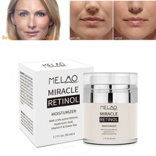 Retinol 2.5% Moisturizer Cream Anti Aging and Reduces Wrinkles Spots Fine Lines 50ML Day and Night Retinol Cream Drop shipping