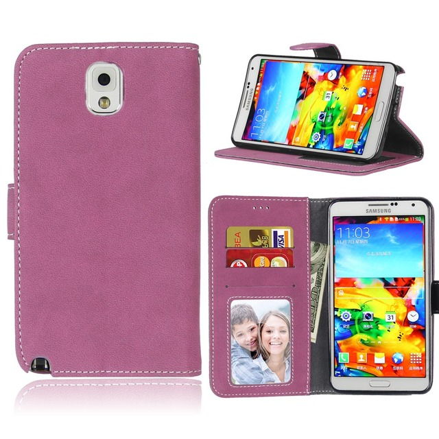 Leather Case for Samsung Galaxy NOTE 3 NOTE3 SM N900 N9005 N900A SM-N900 SM-N9005 SM-N900A SM-N900t Cover Filp Phone Bags Fundas