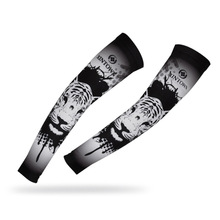Xintown Men Polyester Running Sports Arm Sleeve Warmers Outdoor Uv Sunscreen Cycling Sportswear Accessories Manguitos New